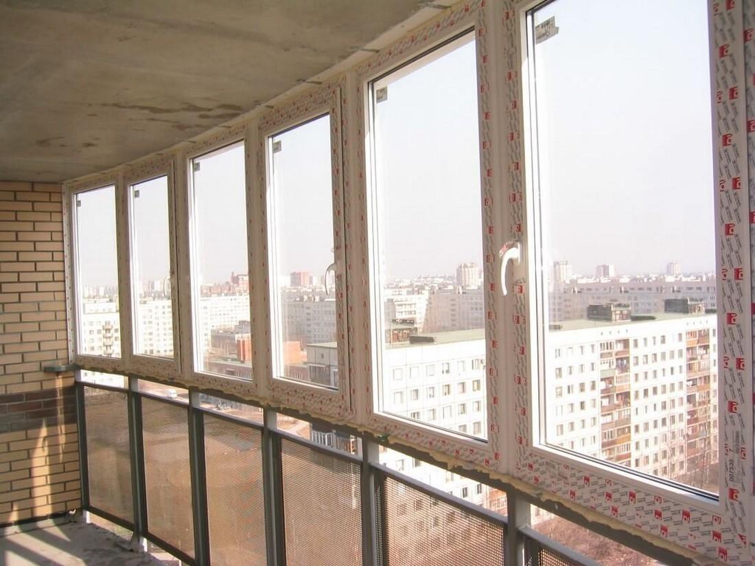 Утепление стекол на балконе
