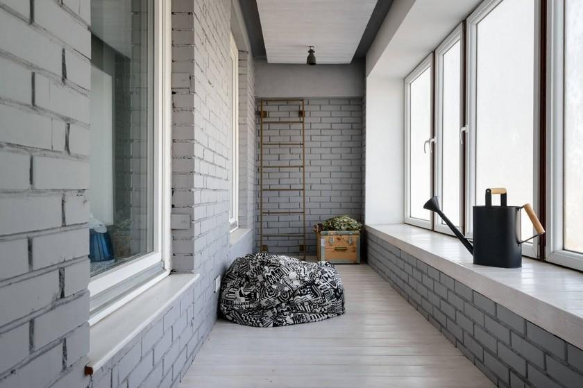 Отделка балкона и лоджий внутри