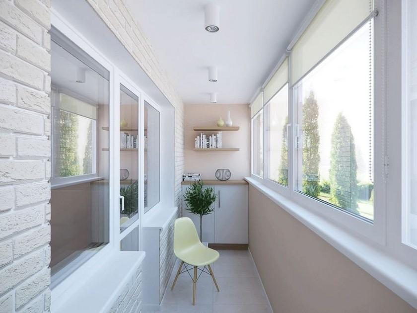 Результат отделки балкона